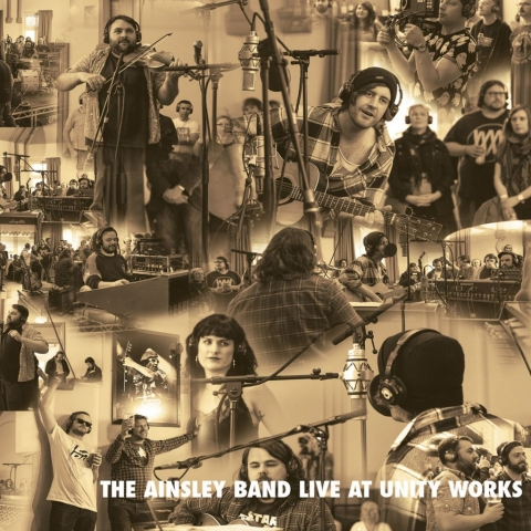 The Ainsley Band Live At Unity Works, Wakefield, Long Division 2015. Recorded by Greenmount Studios and released by Philophobia Music
