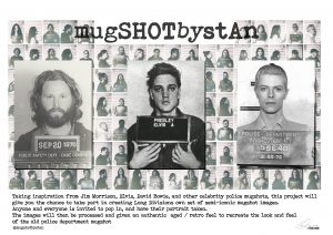SHOT BY STAN: MUGSHOTS BY STAN